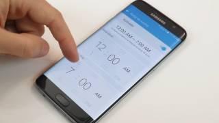 Galaxy S7 Edge - Reloj de noche