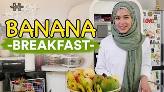 Resep banana breakfast | lisa namuri (bahasa indonesia)
