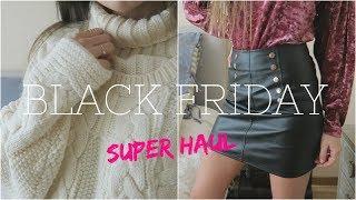 SUPER HAUL BLACK FRIDAY | Primark . Stradivarius . SheIn . Romwe ... | Sandra Caballero ♡