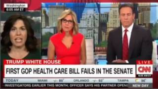 CNN New Day debate Skinny repeal , Death spiral, Trumpcare, Obamacare