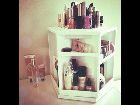 Nice Makeup Organizer + Mini Makeup Collection   YouTube