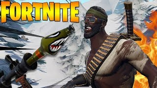 O FRIO CHEGOU mas eu VOLTEI ON FIRE!!! FORTNITE PS4