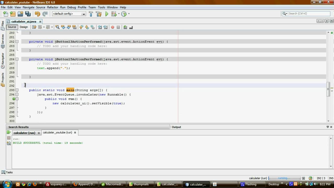 how to create a calculator in android using eclipse