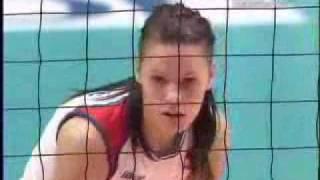 2007ワールドカップ バレーボール 女子 日本1-3セルビア (20-25,20-2...