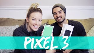 OUR FIRST UNBOXING VIDEO - HOW'D WE DO?? (PIXEL 3)