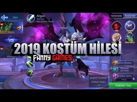 2019 KOSTÜM HİLESİ/ ''FANNY GAMES''