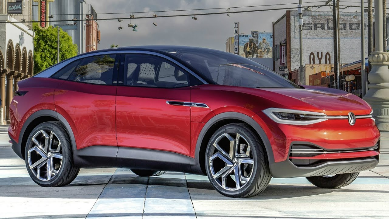 2018 Volkswagen I D Crozz Concept New Electric Suv Car Tv