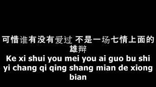 匆匆那年 - 王菲 (Faye Wong) Lyrics Pinyin