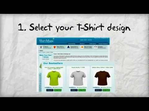 Custom T-Shirts -Design your t shirts online today!