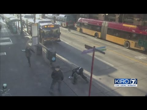 VIDEO: Attorney attacked outside King County Courthouse