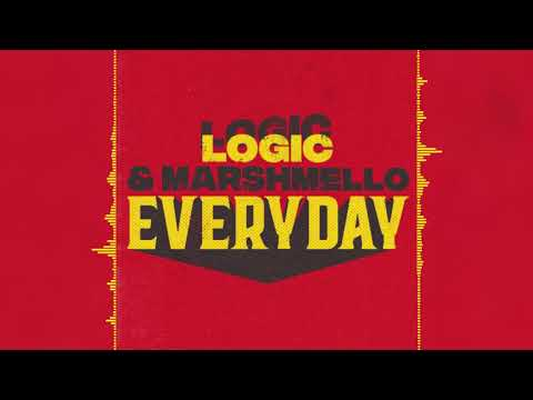 Marshmello & Logic - EVERYDAY (Audio)