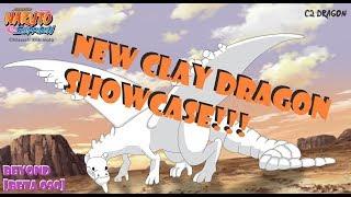 NEW CLAY DRAGON SUBJUTSU SHOWCASE!!! ATUALIZAÇÃO 090 NRPG ROBLOX-BEYOND