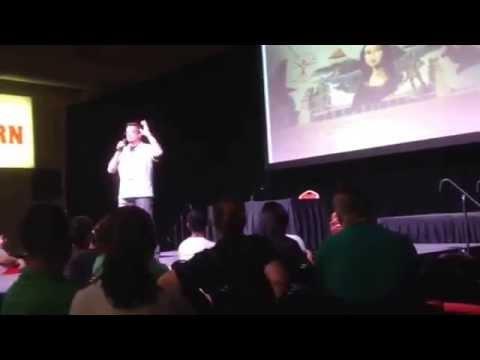 Kevin Eastman TMNT Talk The Bruce Lee of Turtles Amazing Las Vegas Comic-Con 2015