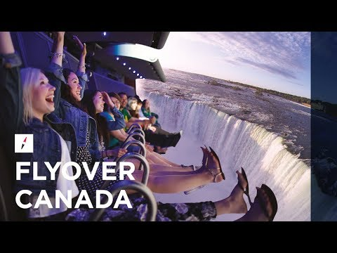 FlyOver Canada   Experience The Ultimate Flying Ride