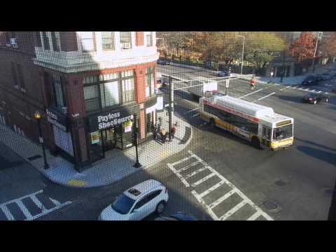 Uphams Corner Time-lapse Video- Analysis