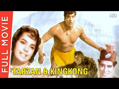 Tarzan And King Kong 1965  Full Hindi Movie  Randhawa, Mumtaz, Bela Bose  Full HD 1080p