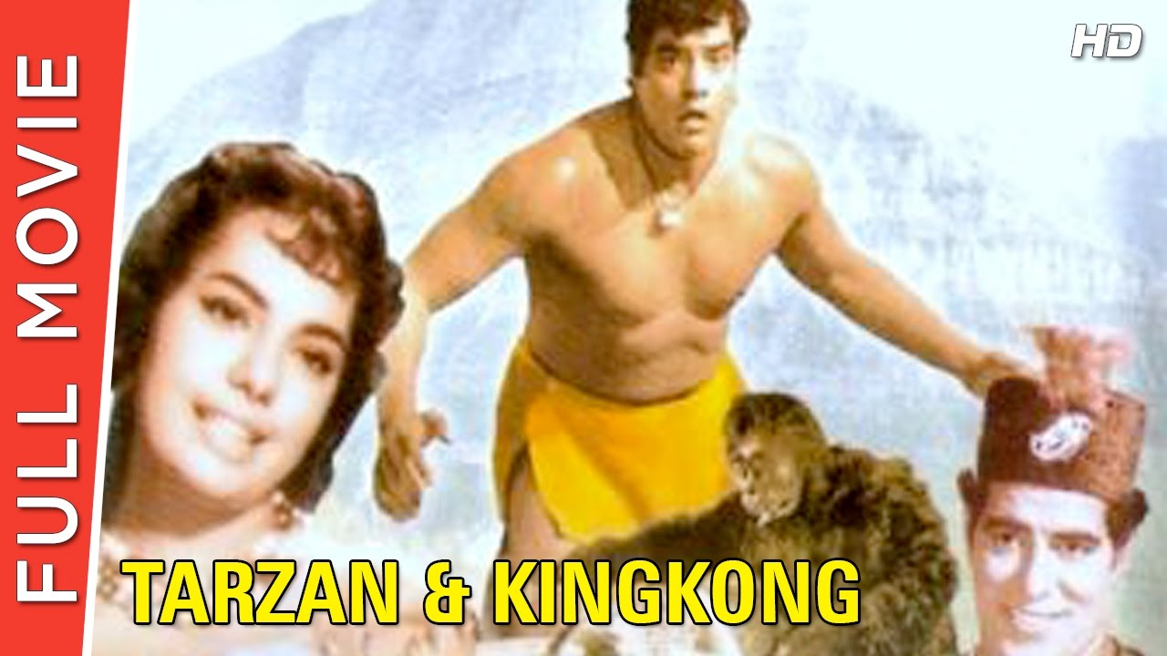 Tarzan And King Kong (1965) | Full Hindi Movie | Randhawa, Mumtaz, Bela Bose | Full HD 1080p