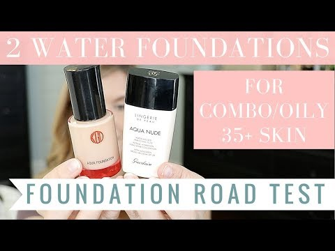 Koh Gen Doh Aqua Foundation Vs NEW Guerlain Lingerie De Peau Aqua Nude | BEST WATER FOUNDATION ?