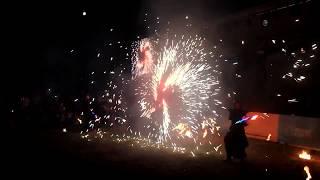 Огненное шоу на празднике День нефтяника в Омске (видео НГС)