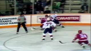 Sergei Makarov and KLM great first goal in Game 3 Canada Cup 1987