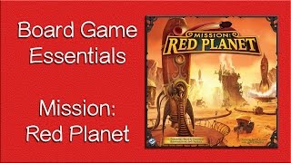 Mission Red Planet - How to Play