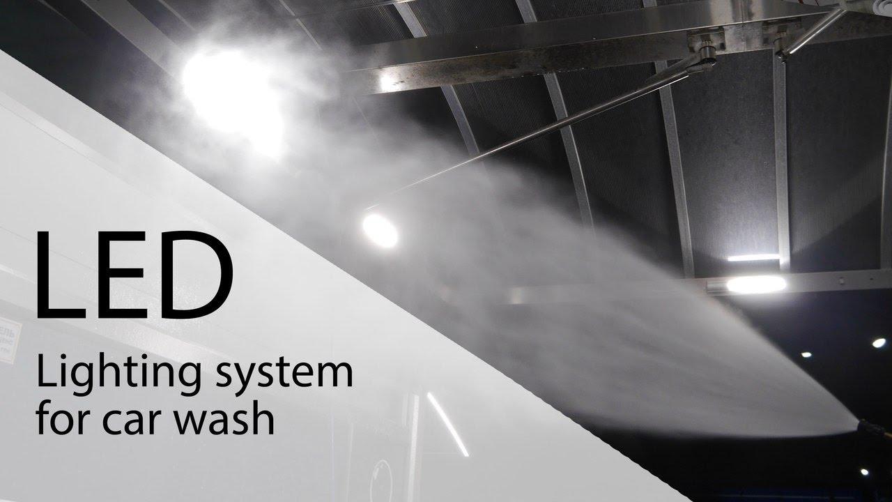 Led Lighting System For Car Wash