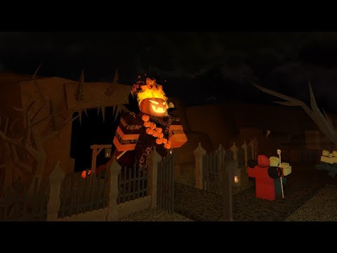 Trying out the NEW Halloween Event | Tower Battles [ROBLOX]