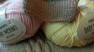 Обзор пряжи BABY MERINO от DROPS. Baby merino uni colour.Часть 1(, 2016-05-31T12:18:12.000Z)