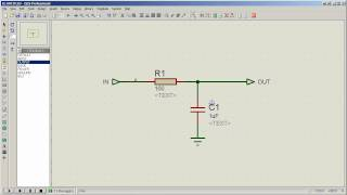 Tutorial: Draw and analyze/simulate a simple circuit in Proteus ISIS (HD)