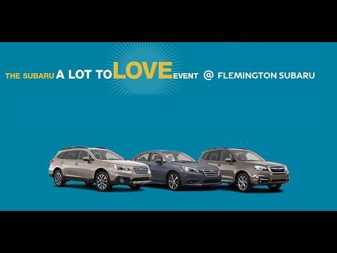 The Subaru A Lot To Love Event At Flemington Dealer Nj