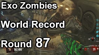 Exo Zombies World Record Round 87