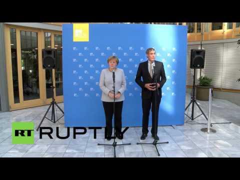 Germany: Merkel talks up Germany-UK trade relations following Brexit