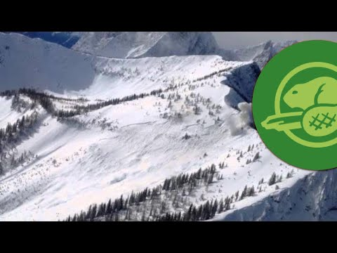 Canadian Rockies Highway Avalanche Control - Kootenay National Park  - March 10, 2014
