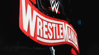 The WrestleMania sign takes flight before Raw: WWE Exclusive, Jan. 27, 2020