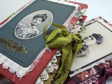 Vintage Journals - 'Eleanor' and 'Nellie'