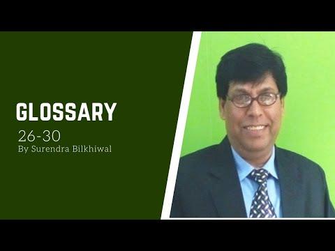 Glossary 26-30