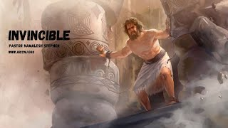 AICC NJ | Invincible | Sunday Sermon | 26 Jan 2020 | Pastor Kamalesh Stephen