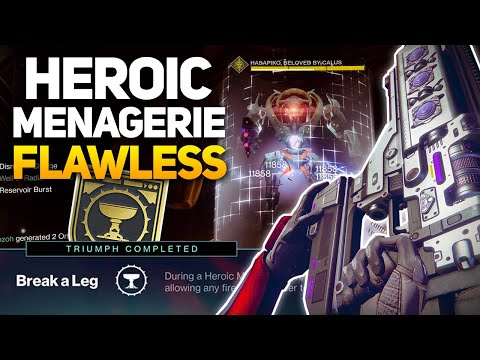 Heroic Menagerie - Week 1 Flawless Guide + How to Get the Sword, Catalyst, & Ship!
