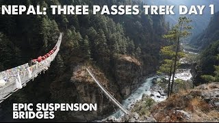 The Three Passes Trek in Nepal: Episode 1-Flying into Lukla Airport