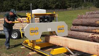 The Affordable Easy To Use And Reliable Sawmill Youve Been Looking For   The Frontier OS27