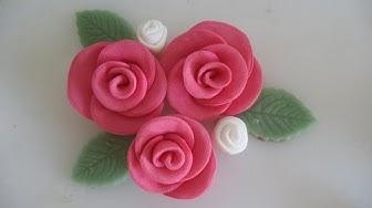 Sokerimassa ruusu