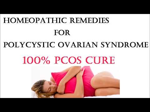 Homeopathic Remedies for Polycystic Ovarian Syndrome - 100% Cure