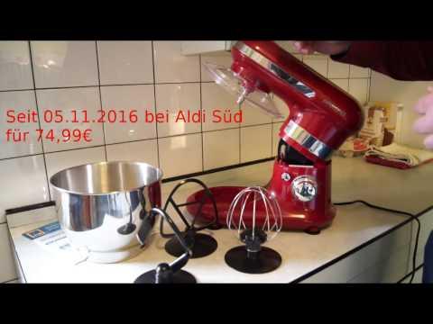 ALDI-SÜD] AMBIANO Klassische Küchenmaschine - KitchenAid Klon zum ...