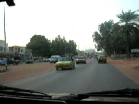 Gambia dafa nice Part 1 (March 2008): driving to Kotu