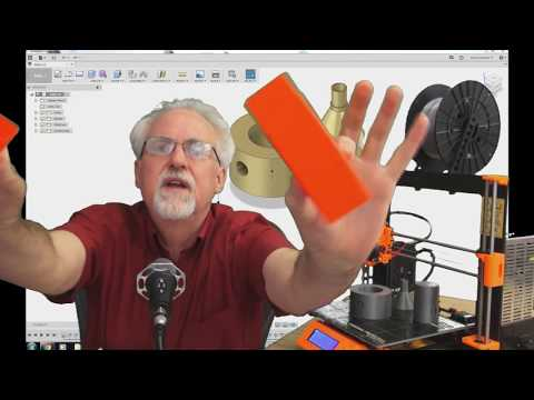Learn Fusion 360 or Die Trying LESSON 2: First 3D Design for