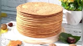 Медовые коржи для торта Самые вкусные медовые коржи для торта Медовик