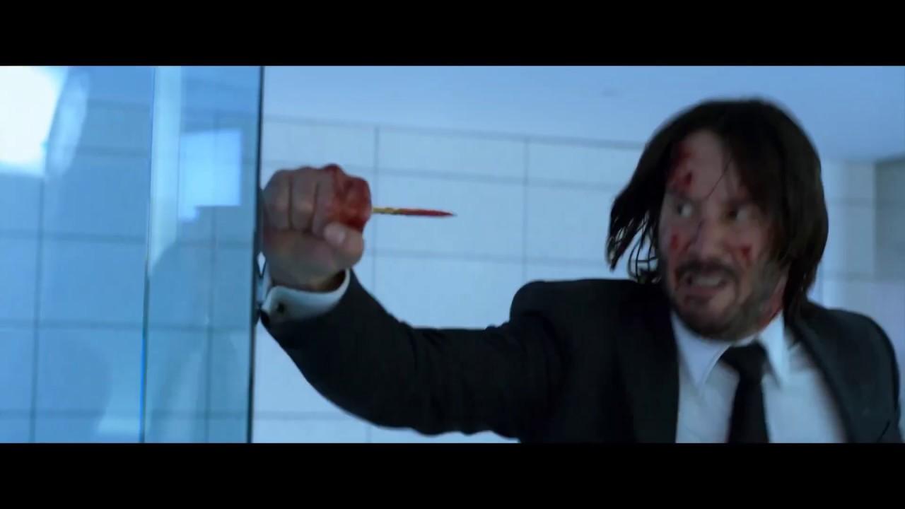 Joker John Wick Pencil Trick Mashup