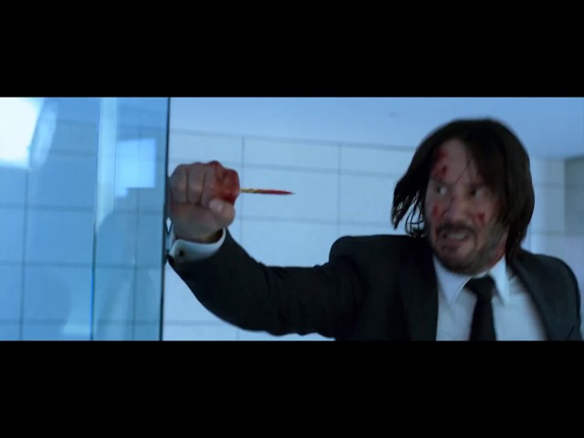 Joker John Wick Pencil Trick Mashup