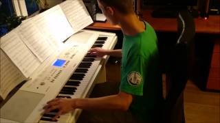 Frozen - Let It Go (piano cover by Toms Mucenieks) - Kyle Landry arrangement
