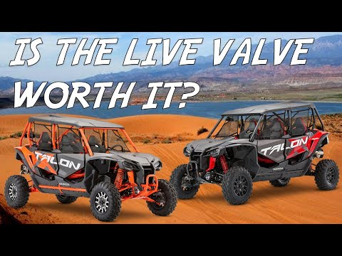 Talon X4 vs. Talon X4 Live Valve - Ride and Review
